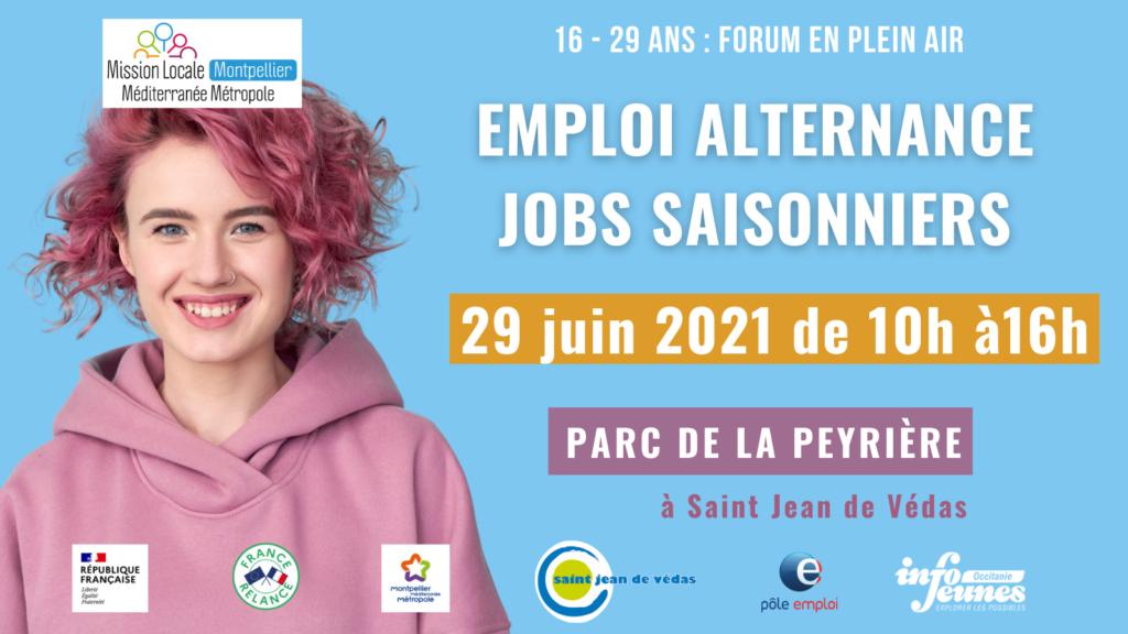 Forum emploi alternance et jobs saisonniers