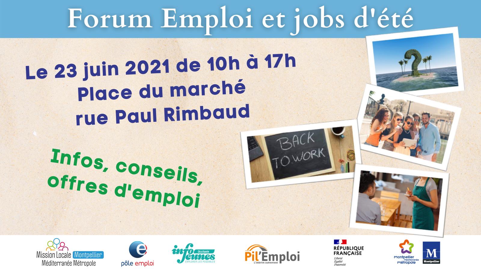 Forum emploi et jobs d'été